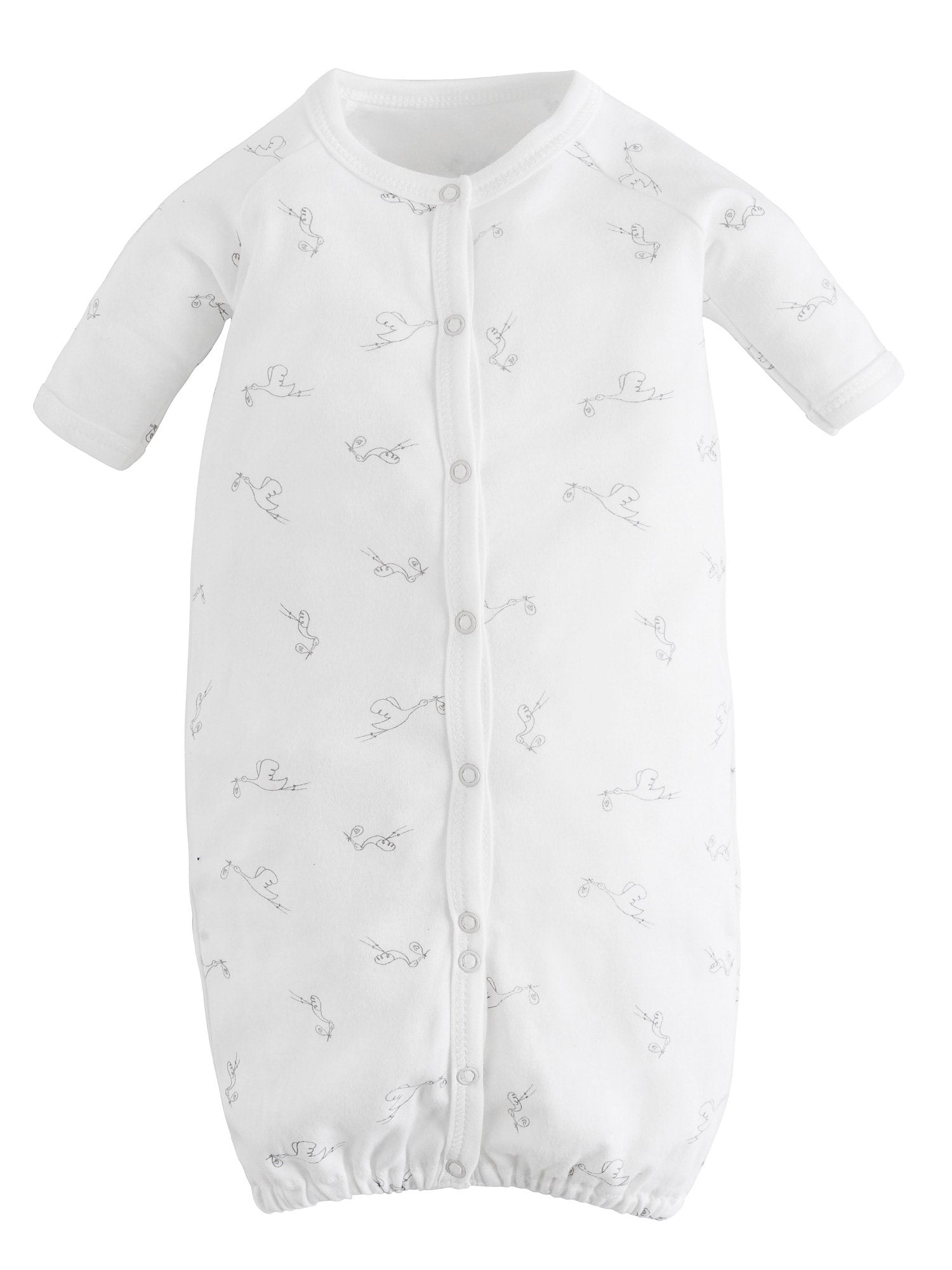 Convertible Baby Sleeper Gown With Mittens Under The Nile