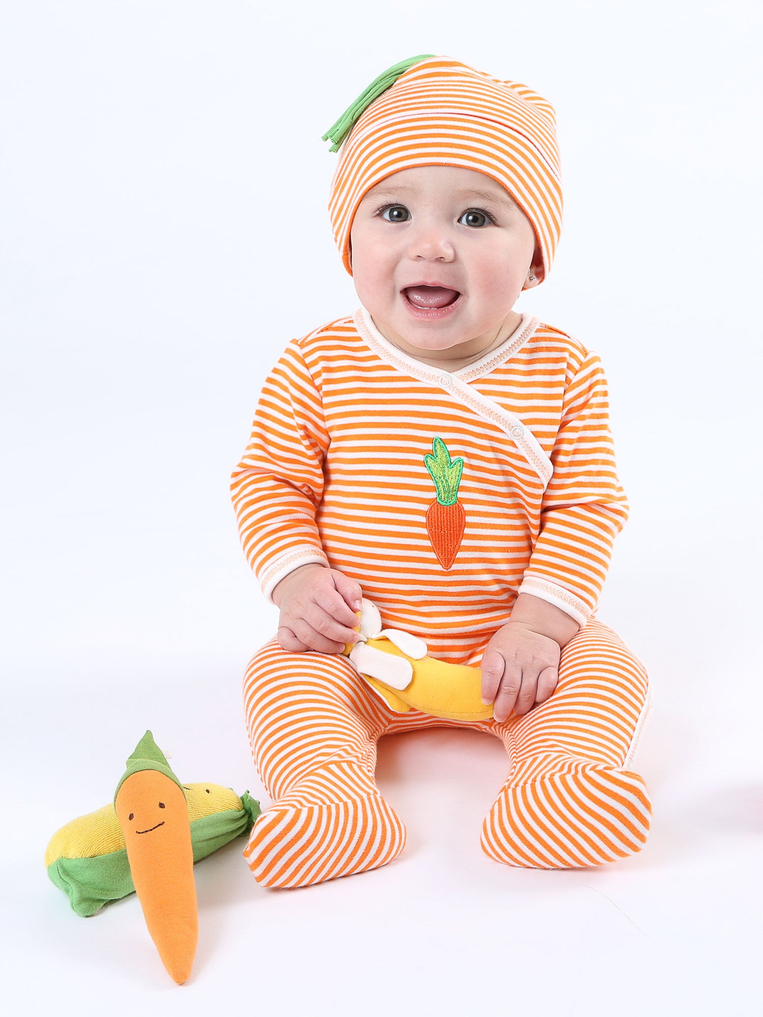 organic-cotton-baby-side-snap-footie-onesie-stripe-veggie-print-lifestyle