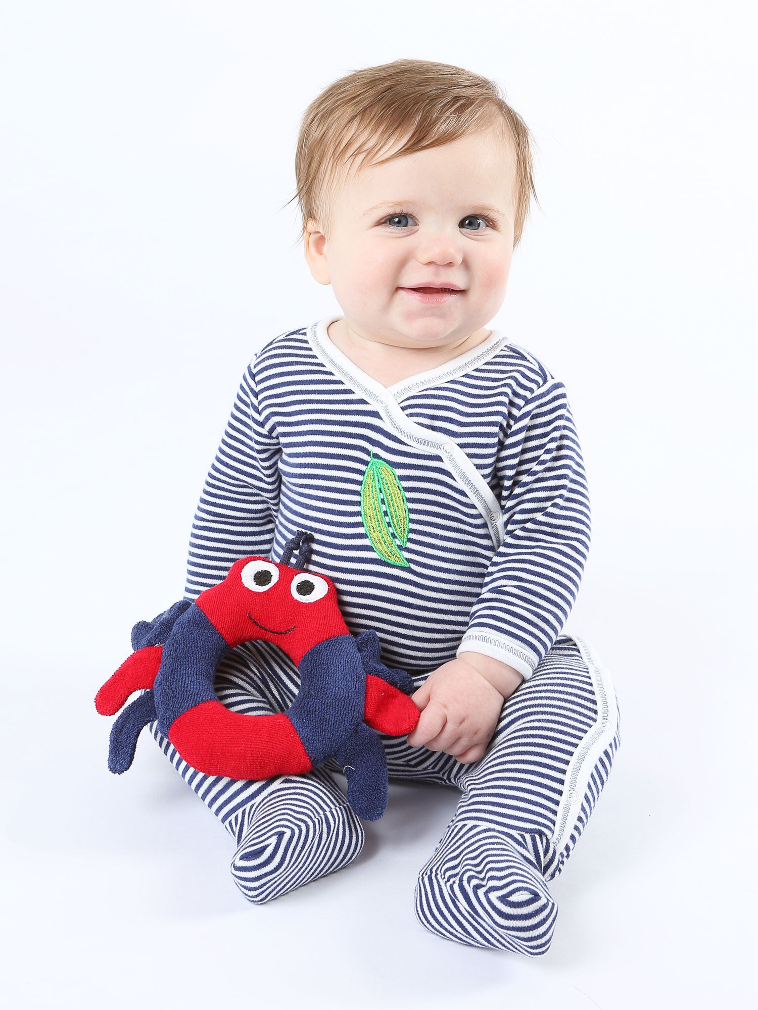 organic-cotton-baby-side-snap-footie-onesie-stripe-veggie-print-navy