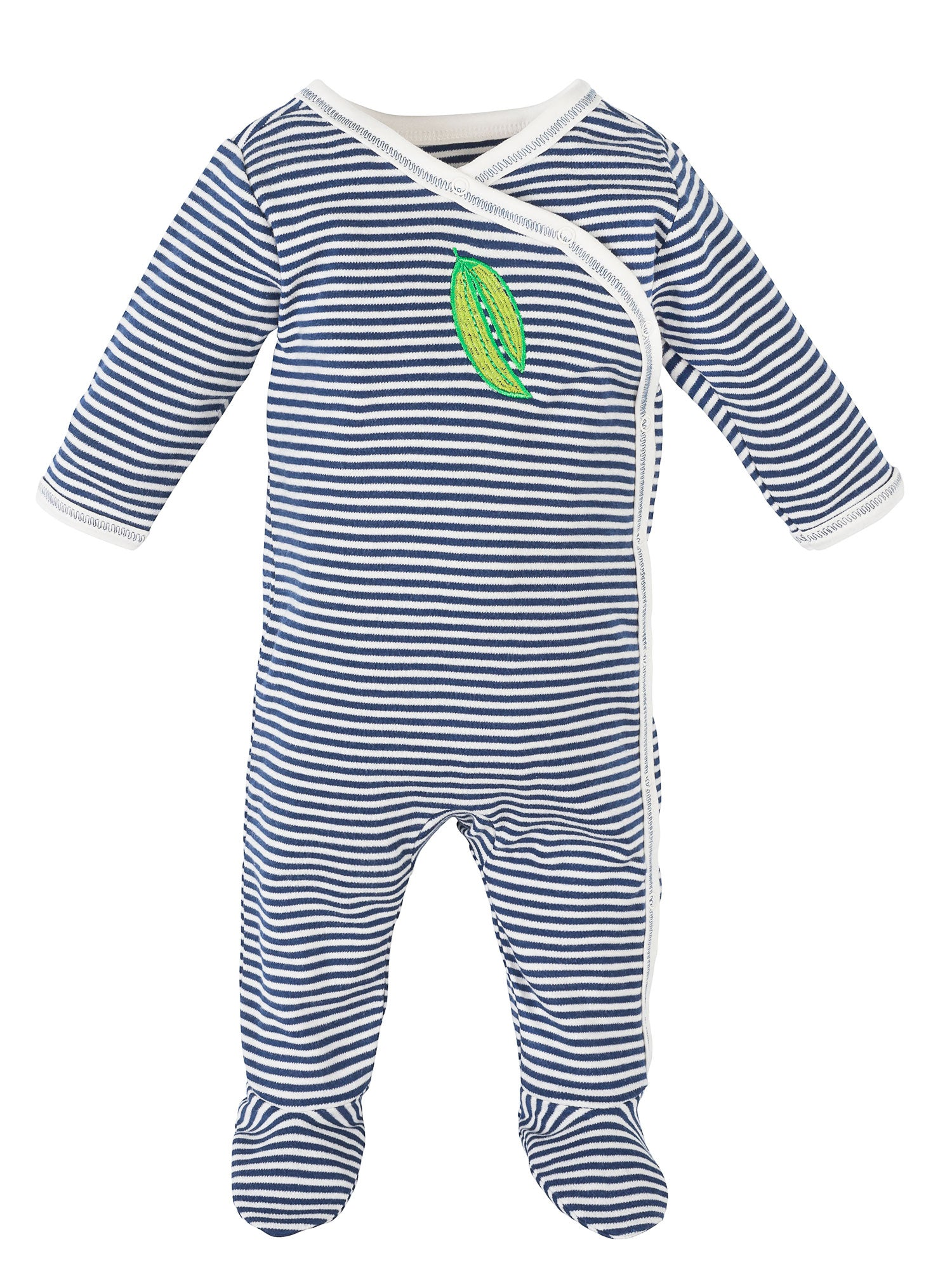 organic-cotton-baby-side-snap-footie-onesie-stripe-veggie-print-navy-lifestyle