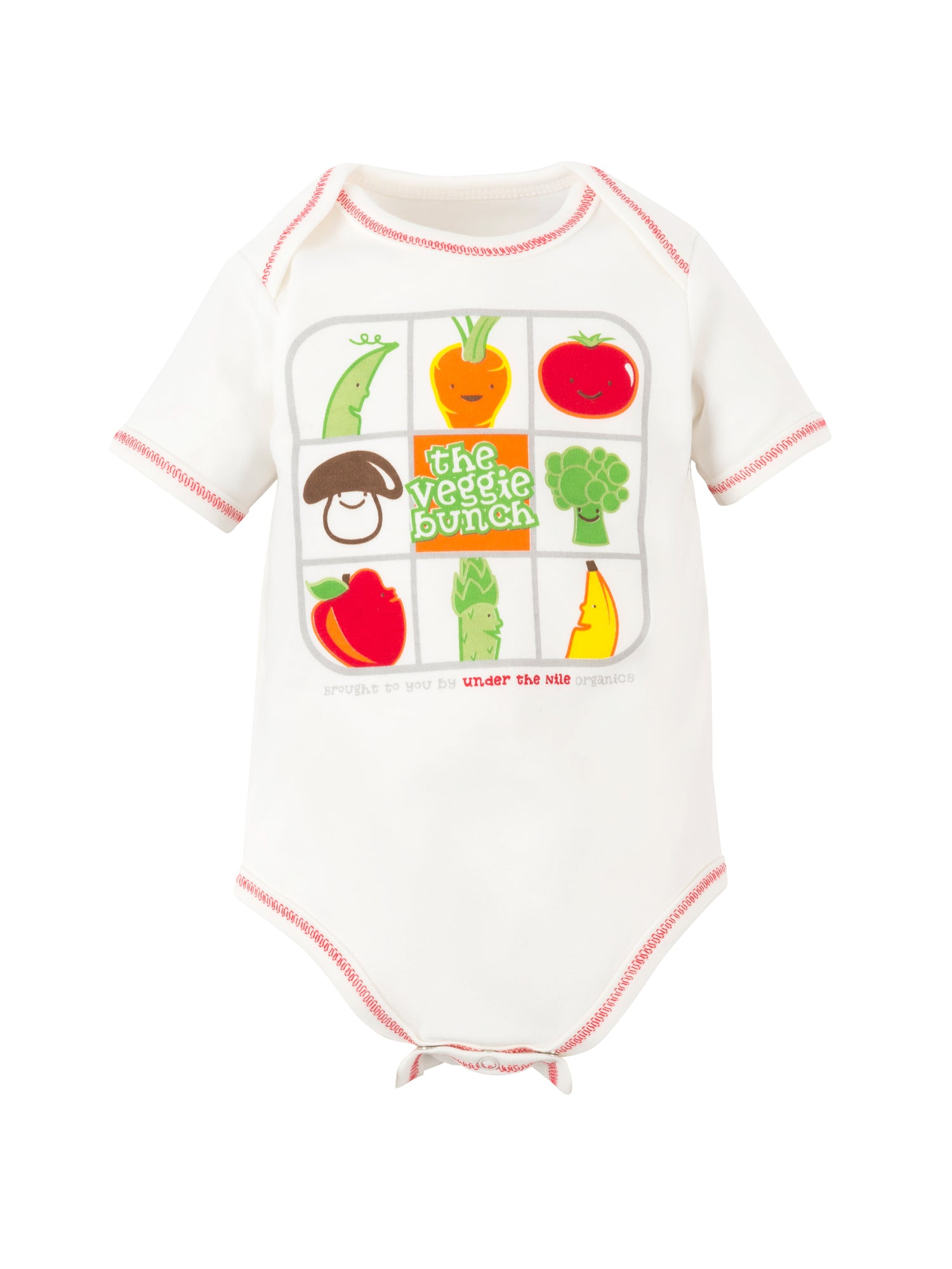 Veggie Bunch Onesie and Swaddle Gift Set