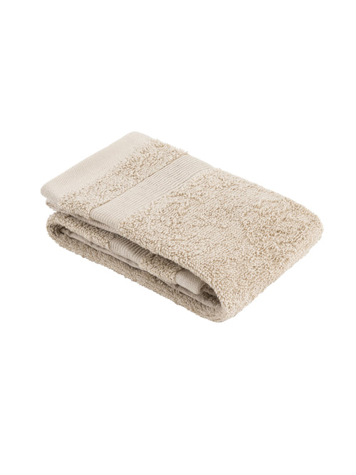 Plush Hand Towel - Stone