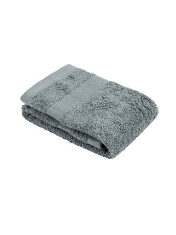Deluxe Hooded Towel - Gray Stripe
