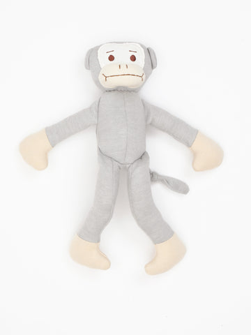Heart Lovey Teething Toy - Grey Muslin Starry Night