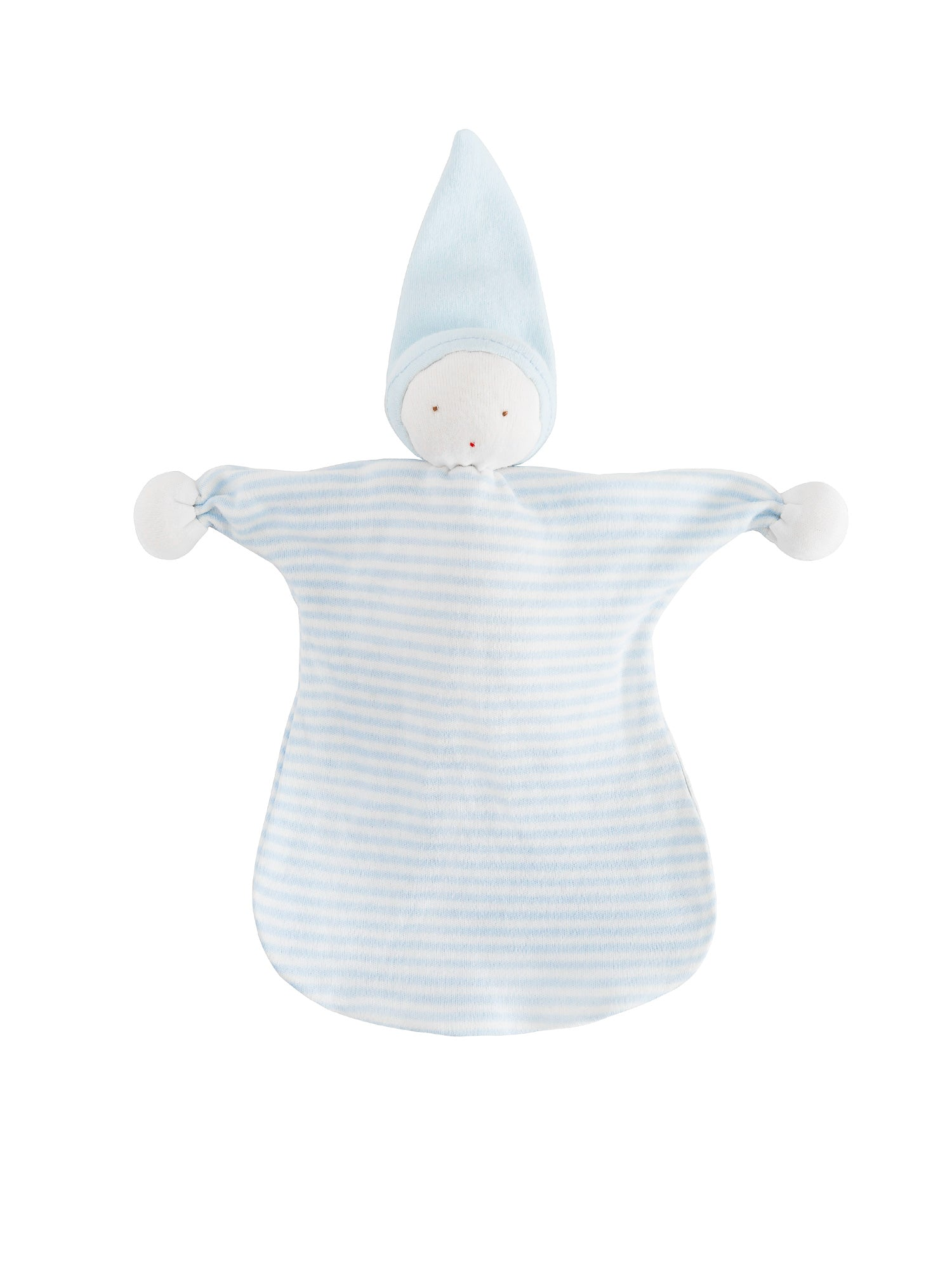 organic-cotton-baby-lovey-sleeping-doll-blue-stripe