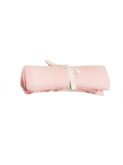 Flannel Swaddle Blanket - Blush