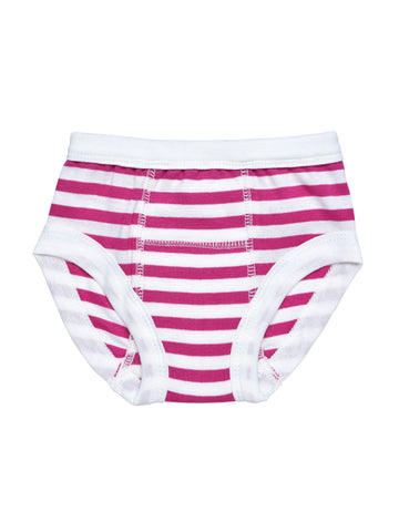 Fuchsia Stripe + Carnival Print Training Pants Value Pack of 2
