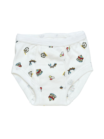 Potty Training Pants - Blue Dots
