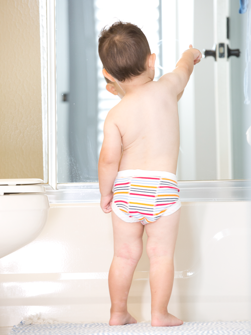 NEW Potty Training Pants - Carnival Stripe
