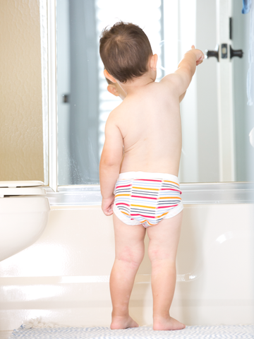 Potty Training Pants - Organic White