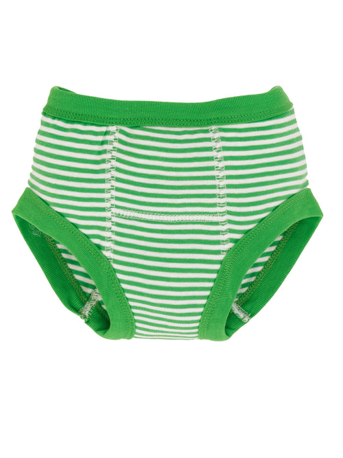Potty Training Pants - Green Stripe