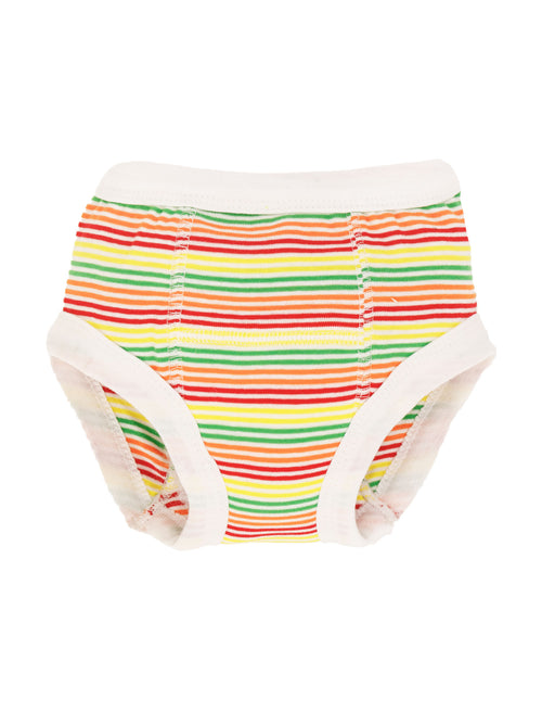 Potty Training Pants - Multicolor Veggie Stripe