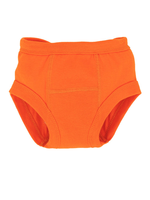 Potty Training Pants - Solid Orange
