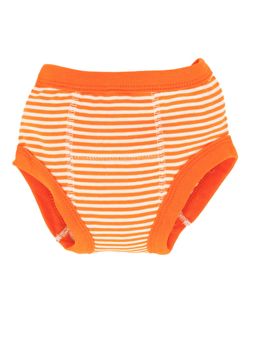 Potty Training Pants - Orange Stripe