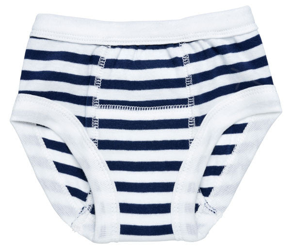 Potty Training Pants - Navy Stripe 1