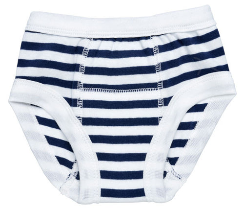 Training Pants Navy Stripe
