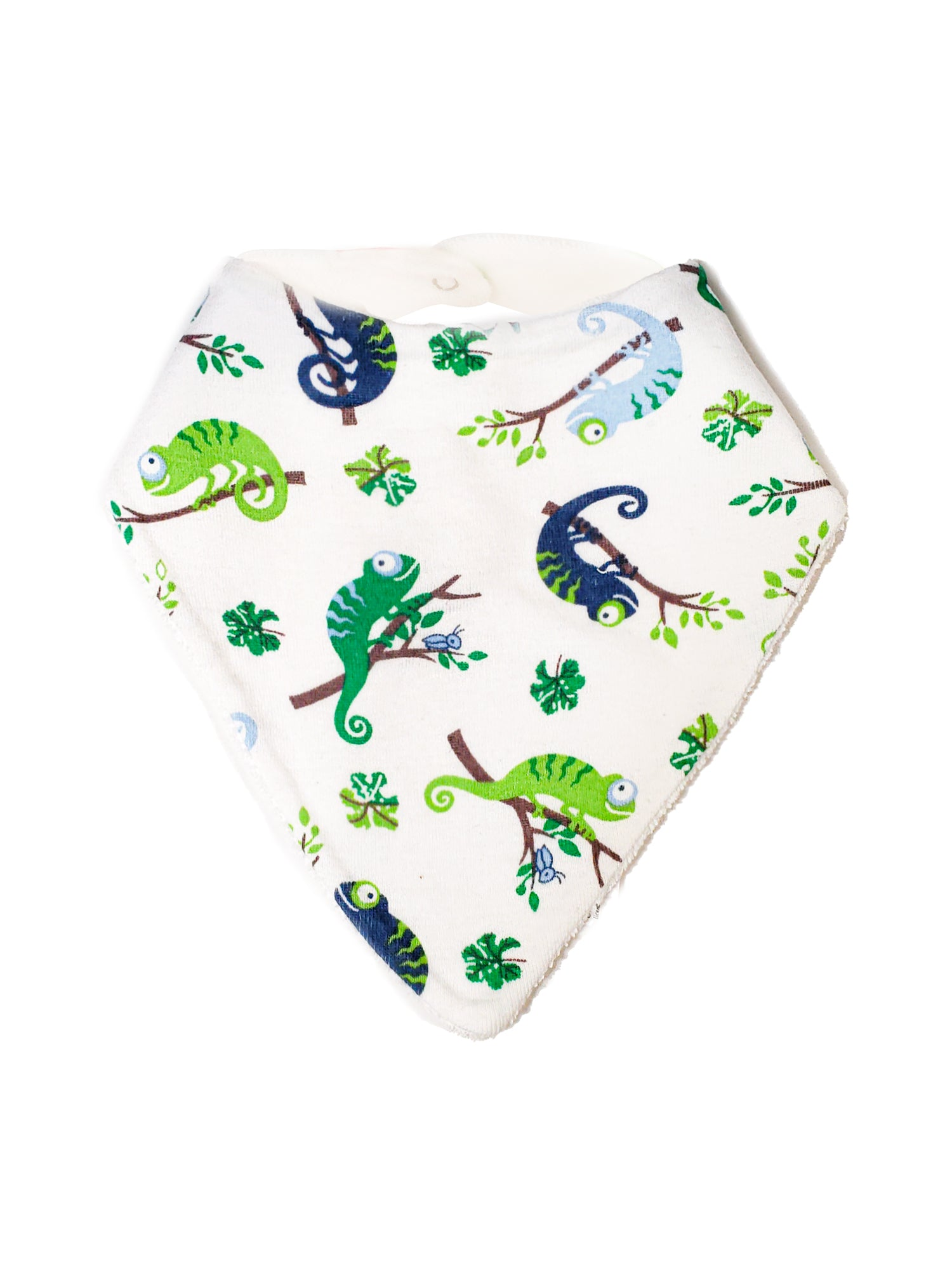 Bandana Style Scrappy Dribble Bib - Assorted Colors