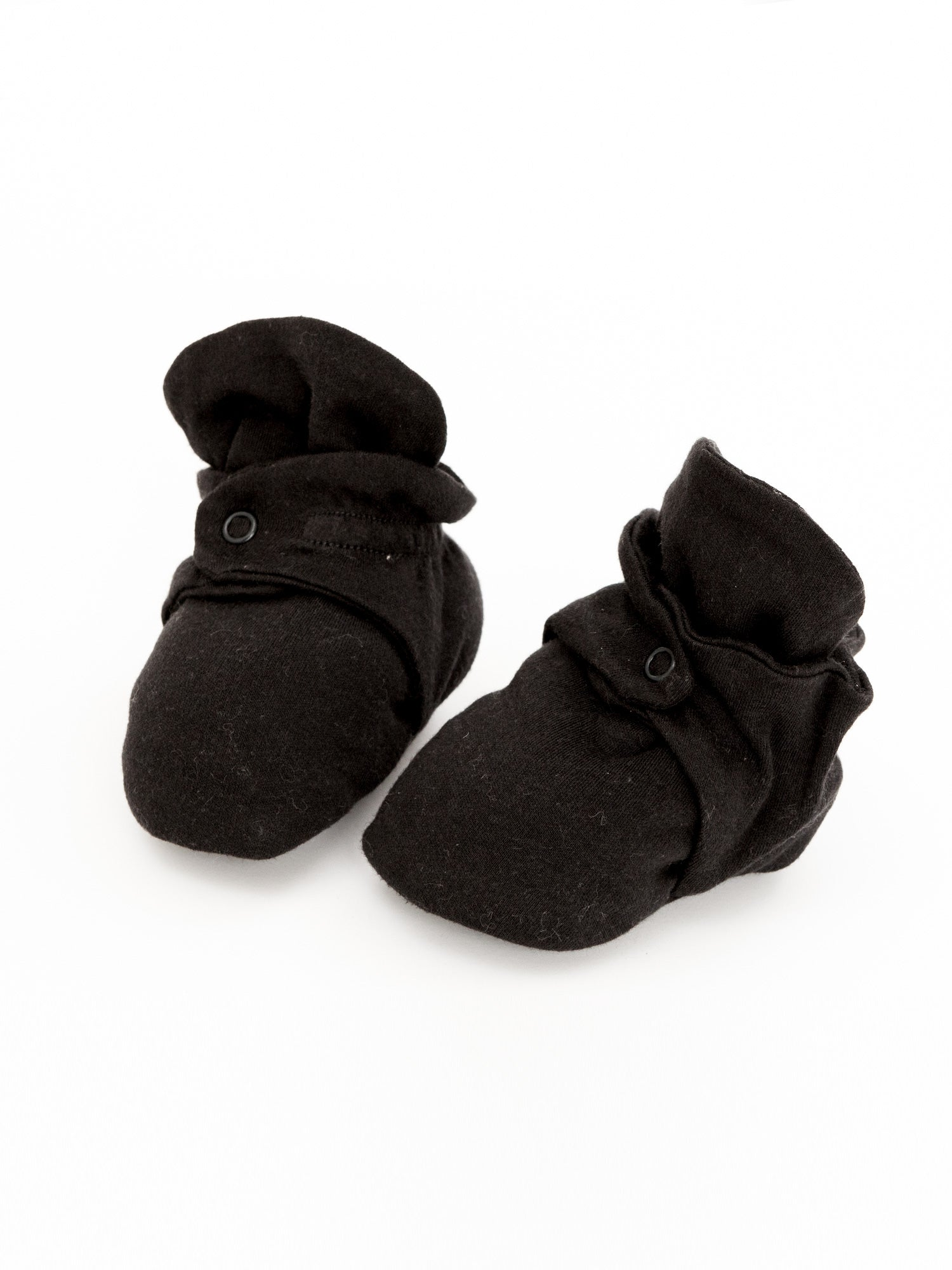 Snap Booties - Black