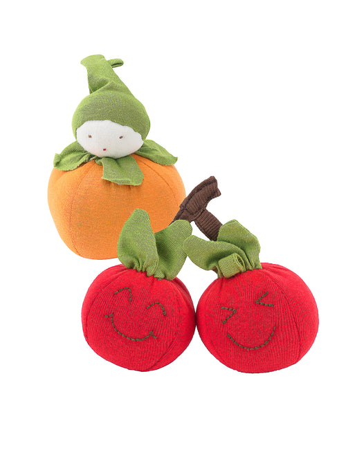 Orange and Cherry Fruit Toy Set