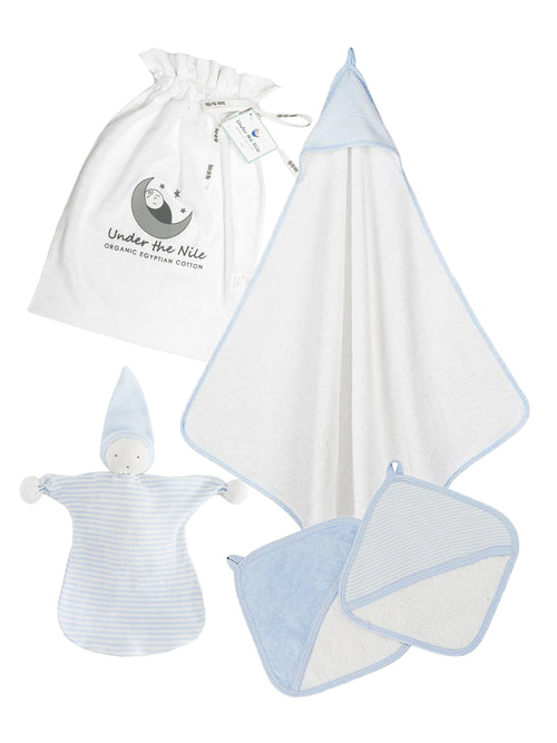 Spa Gift Bag Set - Blue
