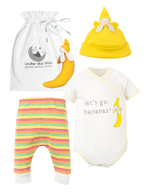 Let's Go Bananas Veggie Bunch Gift Bag Set