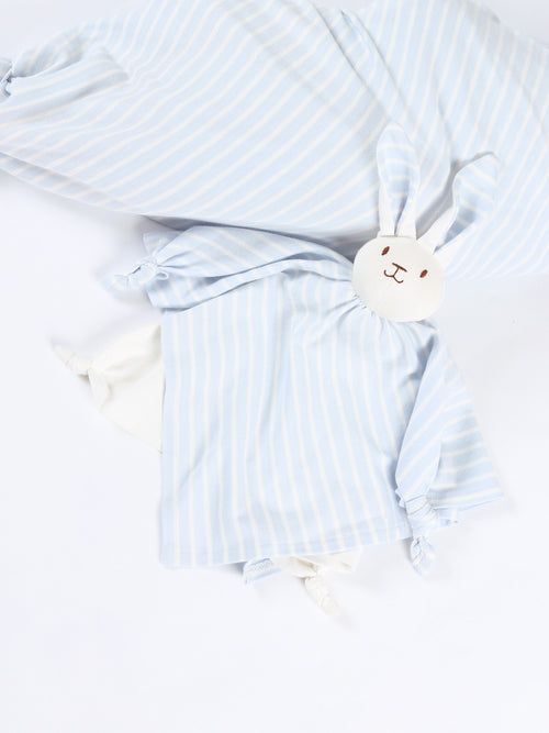 Back Up Bunnies - Blue Stripe