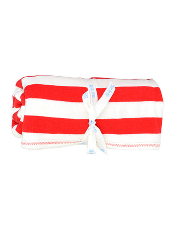 Baby Long Johns - Red Rugby Stripe 6 Months