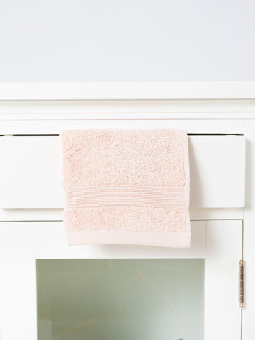 Plush Bath Towel- Pink Sand