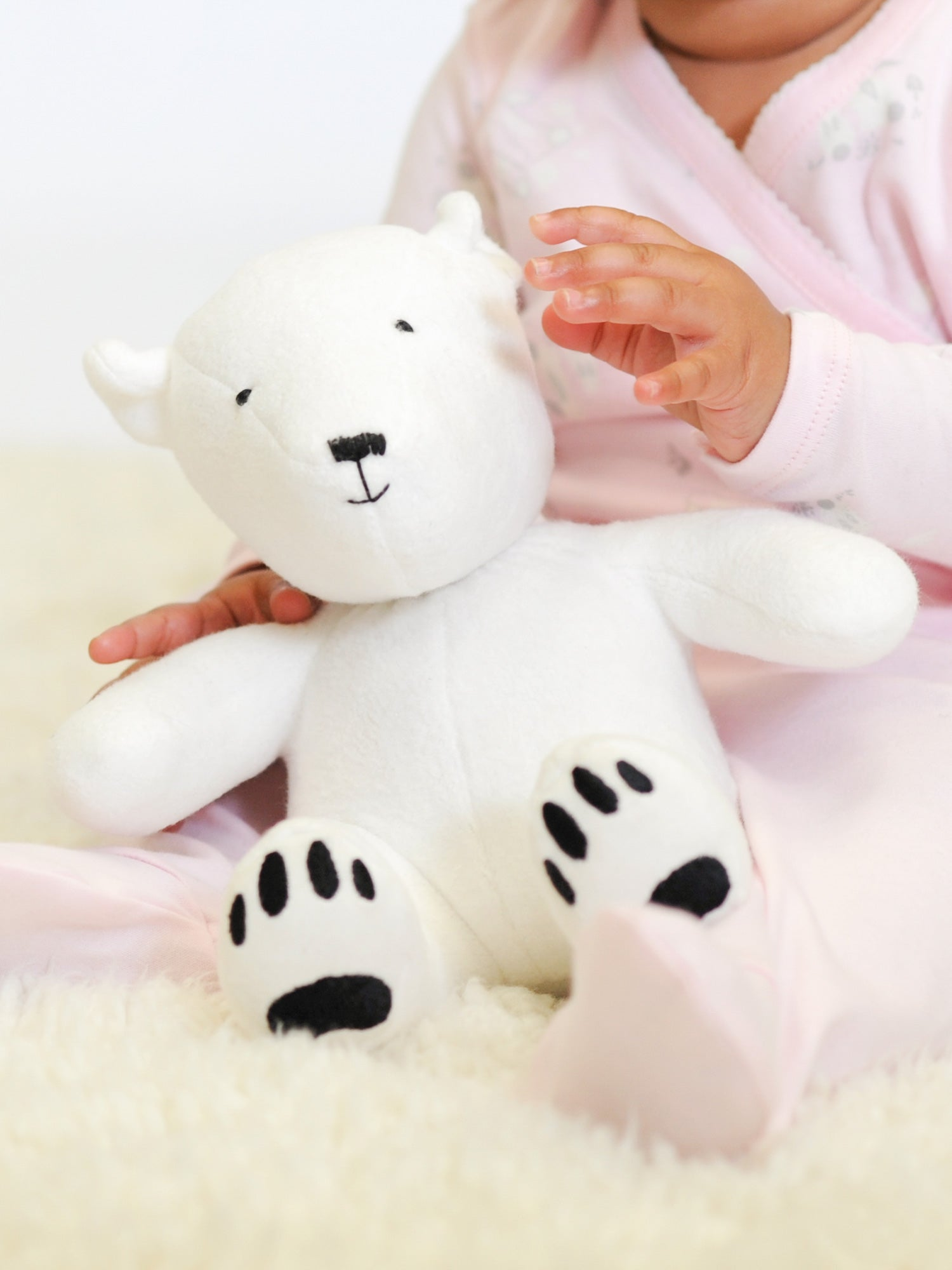 Artie the Polar Bear Stuffed Animal Toy