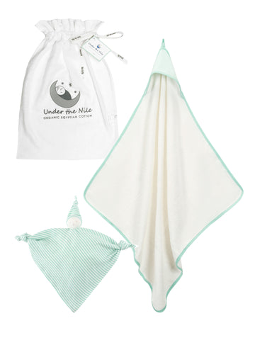 Muslin Gift Bag Set - Organic white