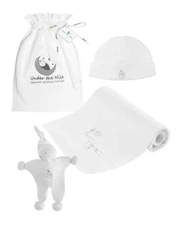 Homecoming Stork Gown Gift Bag Set