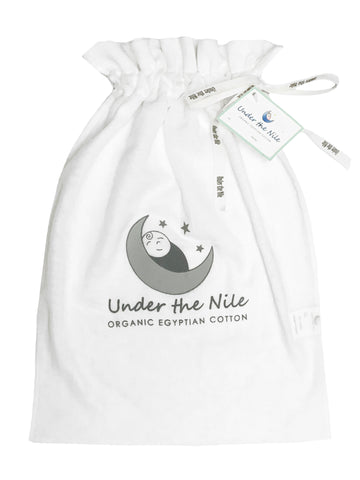 Homecoming Stork Embroidery Footie Gift Bag Set