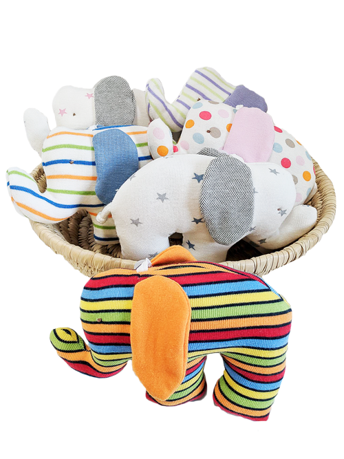 Scrappy Elephant - Assorted Colors