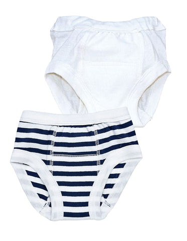 Potty Training Pants - Seafoam Green Stripe
