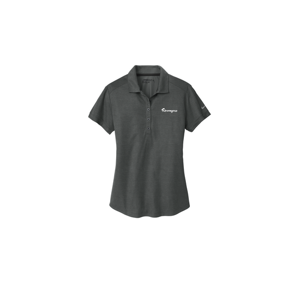 3f2393f8d3a13 Nike Women's Dri-FIT Crosshatch Polo-Anthracite Steel – My Home Group Store
