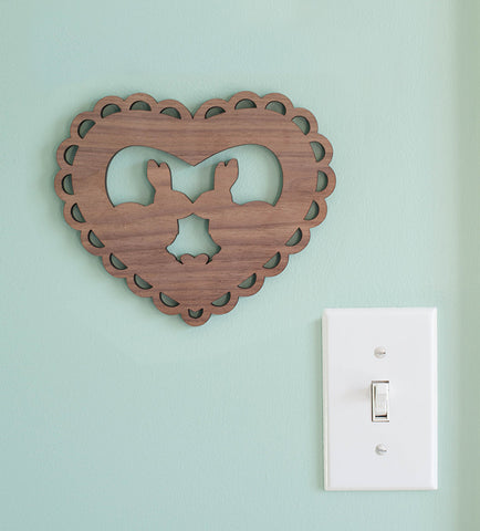 mini valentine that turns into a print you can hang forever laser cut valentine