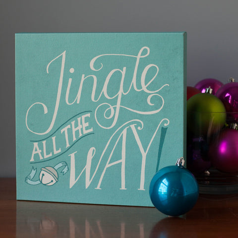 Jingle all the Way Canvas Print