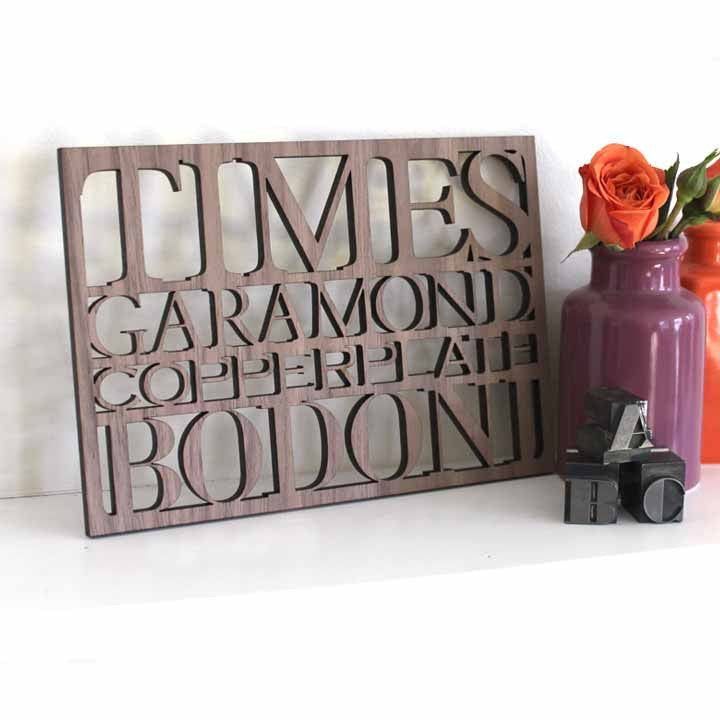 times new roman serif wall art 5x7 desk size art for graphic designer cubicle art for design lovers