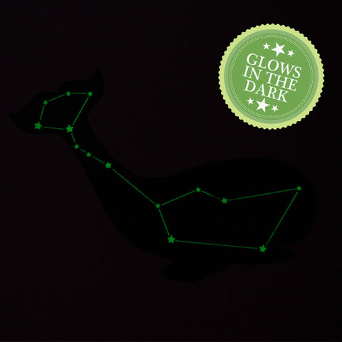 Cetus the Whale -  Glow in The Dark Constellation Print