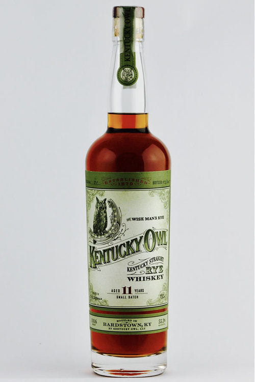 Kentucky Owl Kentucky Straight Rye Whiskey Small Batch
