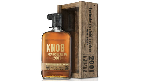 Knob Creek Limited 2001 Edition Batch #1 750ml