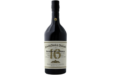 Lock Stock & Barrel 16 Year Straight Rye Whiskey