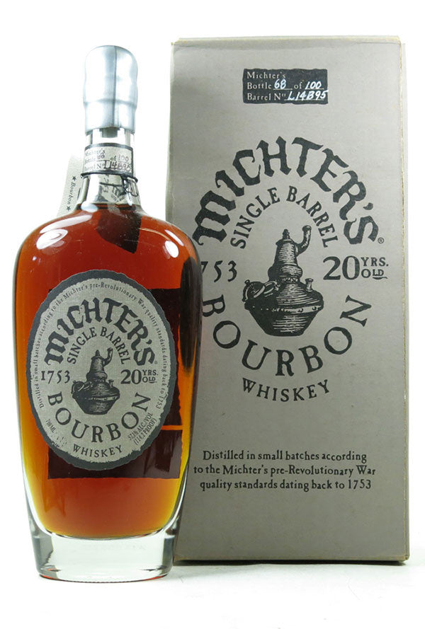Michter's Limited Release 20 Years Old Kentucky Straight Bourbon Whiskey