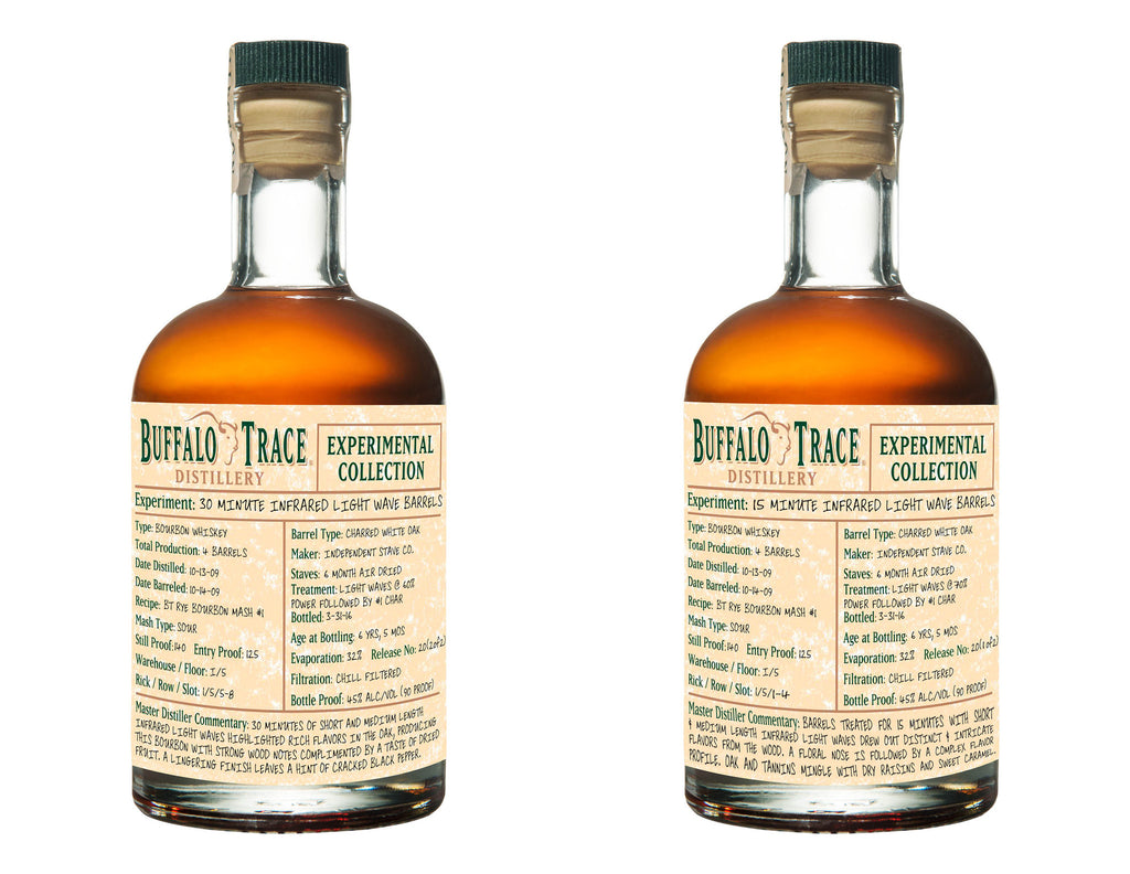 Buffalo Trace Experimental Collection 15 Minute Infrared Light Wave Barrels 375ml