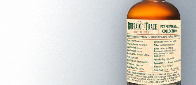 Buffalo Trace Experimental Collection 30 Minute Infrared Light Wave Barrels 375ml
