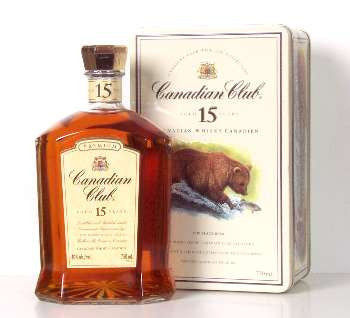 Canadian Club 15 Year Bear Motif 750ml