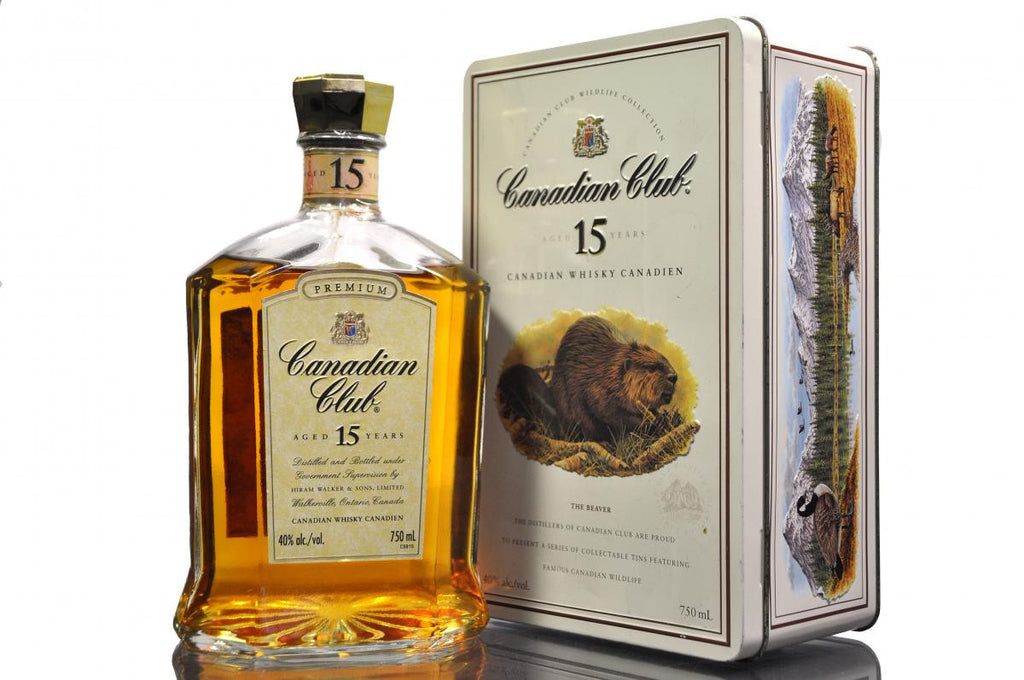 Canadian Club 15 Year Beaver Motif 750ml