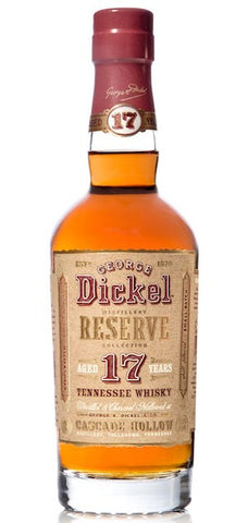 George Dickel Reserve 17 Year Tennessee Whisky
