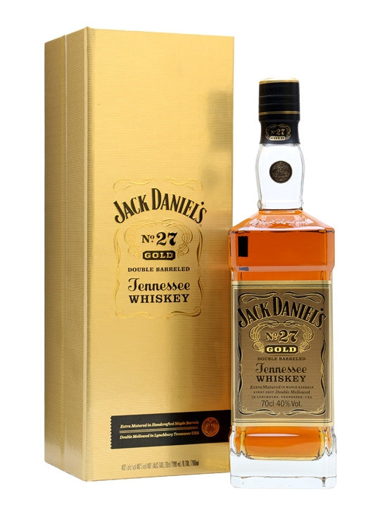 Jack Daniel's Number 27 Gold Double Barreled Tennessee Whiskey