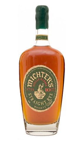 Michter's 10 Year Old Single Barrel Straight Rye 750ml